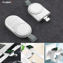 Carregador sem fio portátil para iwatch 6 se 5 4 estação doca de carregamento carregador usb cabo para apple assistir série 5 4 3 2 1