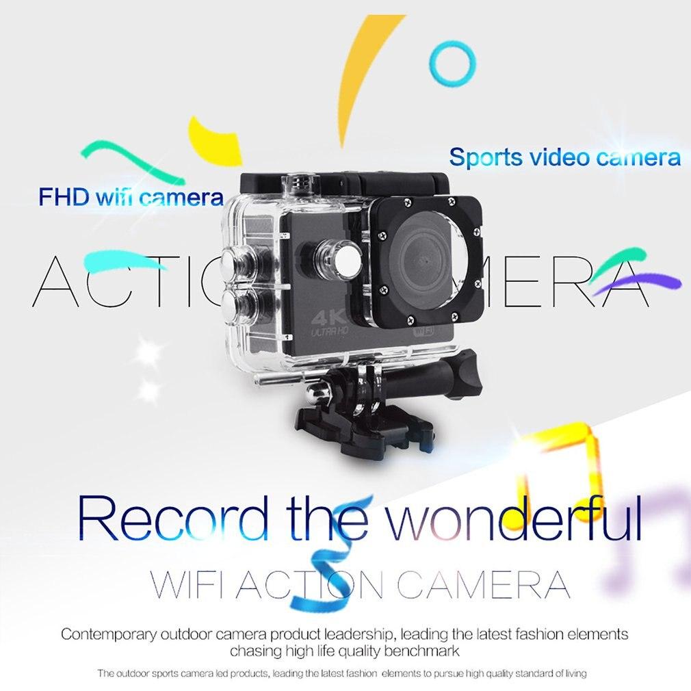 Профессиональная камера Спорт Действие Con Telecomando камера 4k видео камера Wifi Ultra Hd 16mp DVR Спорт на открытом воздухе Дайвинг велосипед видеокамера