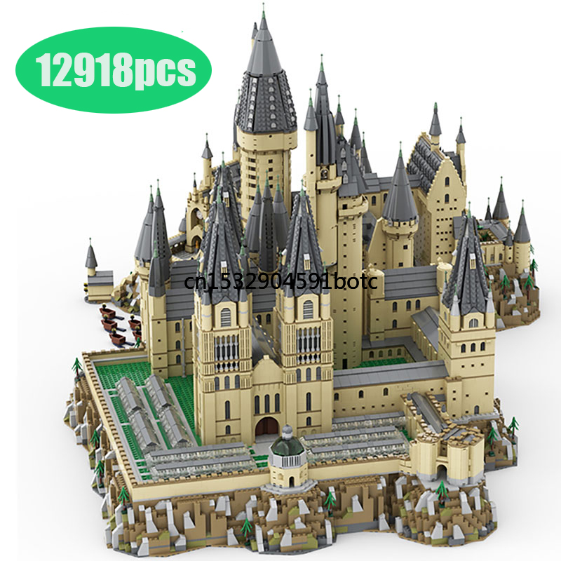 MOC совместимый с Lepining 16060 модель замка из фильма Волшебная модель замка строительные блоки кирпичи игрушки Детский подарок город|Блочные конструкторы| | АлиЭкспресс
