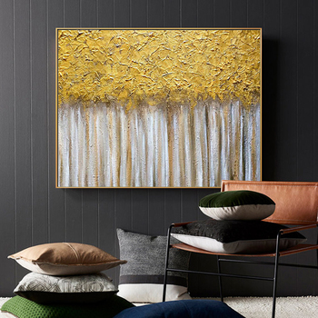 100% Handpainted Modern Luxury Abstract Oil Painting On Canvas Art Gift Home Decoration Living Room Wall Art Frameless Picture