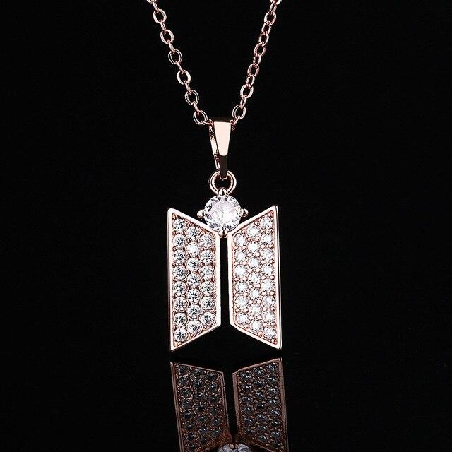 BTS Jewelry Logo Necklace 4