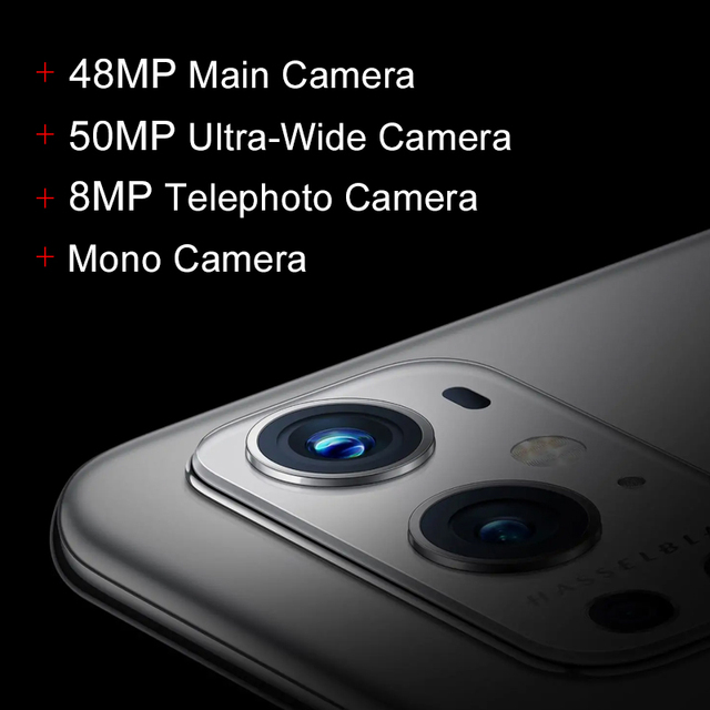 OnePlus 9 Pro 5G Smartphone 8GB 128GB Snapdragon 888 120Hz Fluid Display 2.0 Hasselblad 50MP Ultra-Wide OnePlus Official Store 5