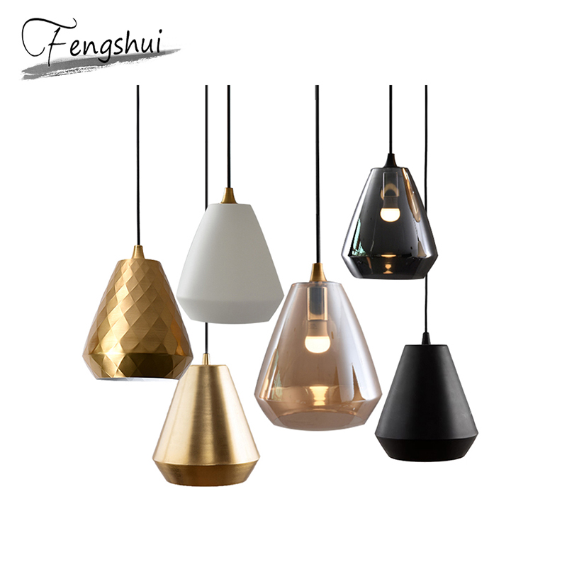 Modern Glass Pendant Lights Lamp LED Pending Lighting Living Room Bedroom Bar Dining Room Loft Hanging Lamp Decor Light Fixture