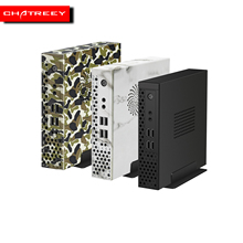 Chatreey s1 mini pc intel desktop level core i3 9100 i5 9400 amd ryzen 3200G ryzen 3400G dual DDR4 Channel  gaming computer