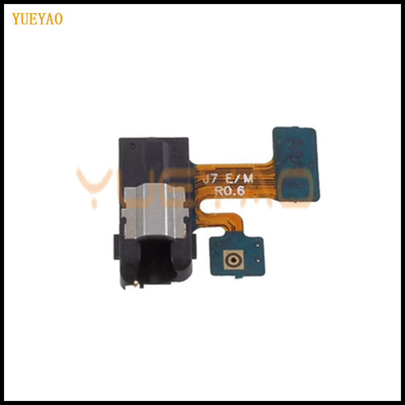 Audio Flex For Samsung Galaxy J3 J5 J7 2017 J330 J530 J730 Earphone Jack Headphone Audio Microphone Flex Cable Audio jack flex