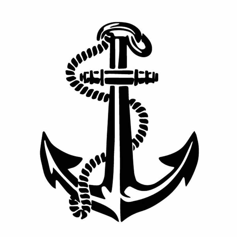 Светоотражающие автомобильные наклейки с кораблем лодкой якорем веревкой