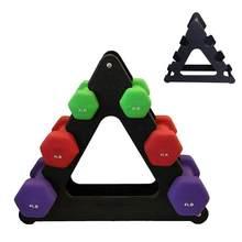 Hantel Halterung Dreieck Blätter Baum Rack Steht Gewicht Heben Halter Fitness Gym Ausrüstung Hause Übung Zubehör