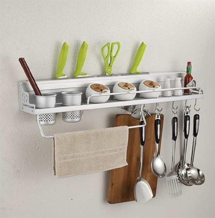 The Kitchen Shelves Alumimum Kitchen Shelves Shelf Kitchenware Alumimum Knife Rest