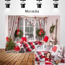Mocsicka Рождественские фоны с изображением снежного окна для