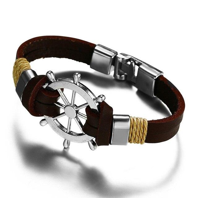 Bracelet rétro gouvernail  6