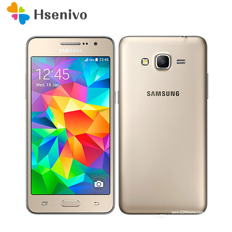 Samsung Galaxy Grand Prime G530 G530H Original Refurbished Unlocked Cell Phone Quad Core Dual Sim 5.0 Inch TouchScreen