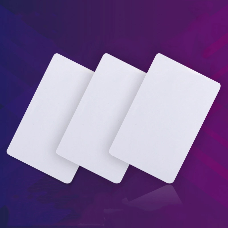 Blank White Card, PVC Inkjet Printer, PVC Direct Print Card, Free Coating, Double-sided, Can Print White Card Directly