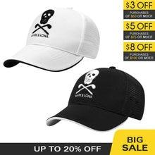 Boné de golfe chapéu masculino esporte viseira de beisebol malha de volta respirável