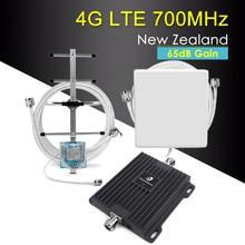 Усилитель сигнала сотового телефона LTE 700 4g, усилитель диапазона 28 700 МГц 65 дБ, репитер сотовой связи