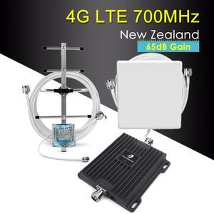 Image 1 - Усилитель сигнала сотового телефона LTE 700 4g, усилитель диапазона 28 700 МГц 65 дБ, репитер сотовой связи