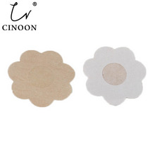 CINOON 10pcs/lot Flower Adhesive Nipple Covers Pads Body Bre