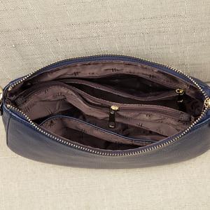 Image 5 - جلد طبيعي السيدات عادية صغيرة حقائب كروسبودي للنساء موضة حقيبة كتف المرأة حقائب الإناث الطرف مخلب المحفظة