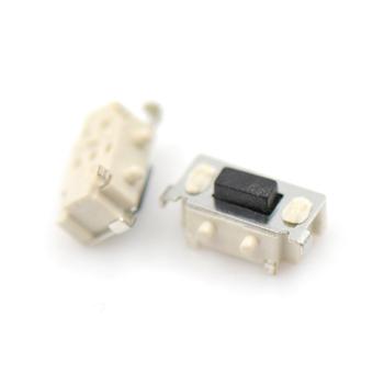 20 sztuk 3x6x3 5mm Micro przełączniki taktowe dotykowy Tablet PC przycisk Bluetooth zestaw słuchawkowy zdalnego sterowania przełącznik boczny chwilowe przełączniki dotykowe tanie i dobre opinie CN (pochodzenie) Z tworzywa sztucznego Dotykowy włącznik wyłącznik