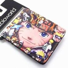 Cartoon Wallet NARUTO Sword Art Online Series Teen Boys and Girls Short Wallets