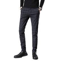 Бренд, четыре сезона, классические, высокое качество, мужские повседневные штаны, брюки, мужские повседневные штаны, деловые, прямые, размер 38