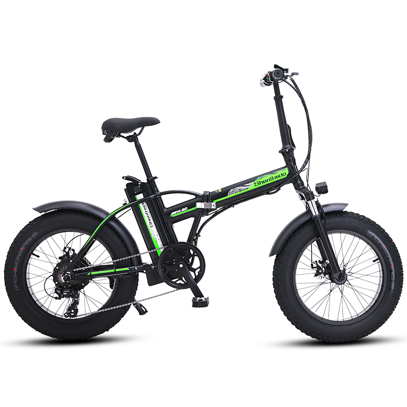 Electric bike 20 inch ebike 48V500W electric mountain bike electric folding bike 4.0 fat tire bicicleta eletrica beach E-bike