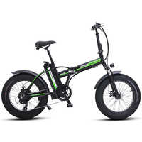 Vélo électrique 20 pouces ebike 48V500W VTT électrique électrique vélo pliant 4.0 gros pneu bicicleta eletrica plage ebike