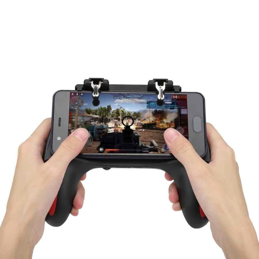 مراوح التبريد المزدوج الهاتف المحمول أذرع التحكم في ألعاب الفيديو غمبد مع 2500 mAh/5000 mAh بطارية جيم كيوب