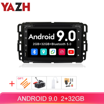 YAZH 7.0 inch display Car stereo for GMC Yukon Acadia Sierra Chevrolet aveo Tahoe android 9.0 auto radio 2GB 32GB car DVD player image