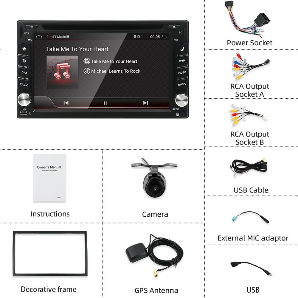 2Din Dvd Android Mobile