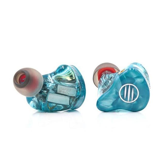 BGVP DM7 6 BA knowles sonion drivers Customize IEM In Ear Monitors HIFI Earphone 2