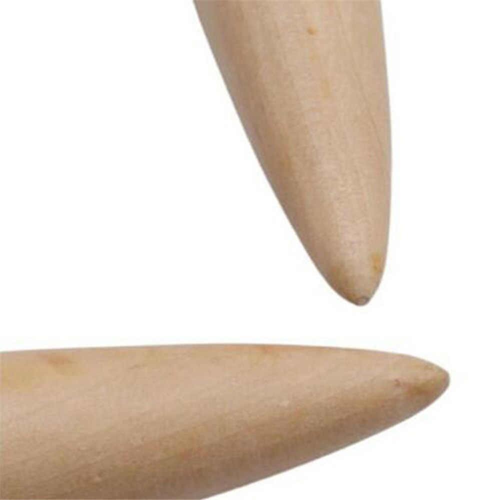 20 Mm Hout Circulaire Breien Bamboe Ring Naald Ijslandse Wol Diy Super Grof Wol Naaien Gereedschap Hoed Sjaal Deken Zak