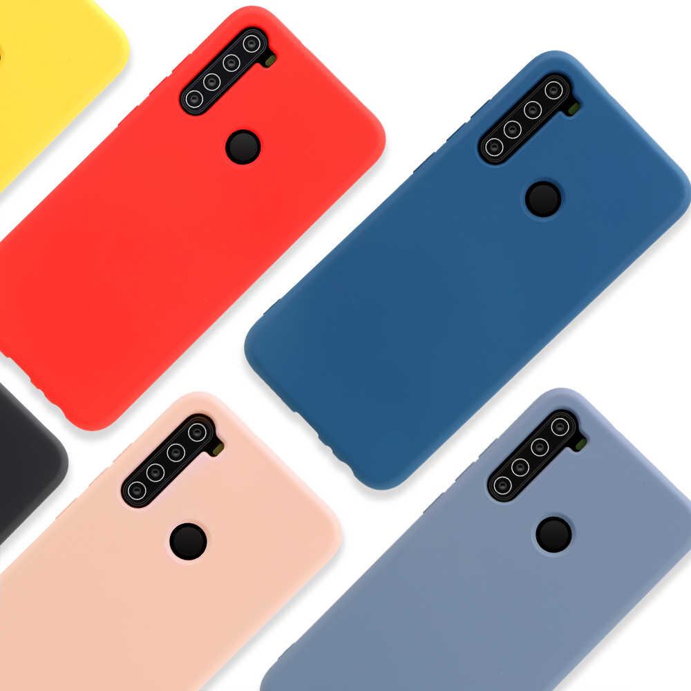 Original Flüssigkeit Silikon Abdeckung Für Xiao mi Red mi Hinweis 7 5 6 8 Pro mi 8 mi 9 A2 lite 6X mi 9 SE 9t Pro 8 8A Luxus Dünne Weiche Fall