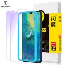 SmartDevil Tempered Glass For Huawei mate 10 10Pro Blue screen protector Screen Protector 20 20X Protective Film