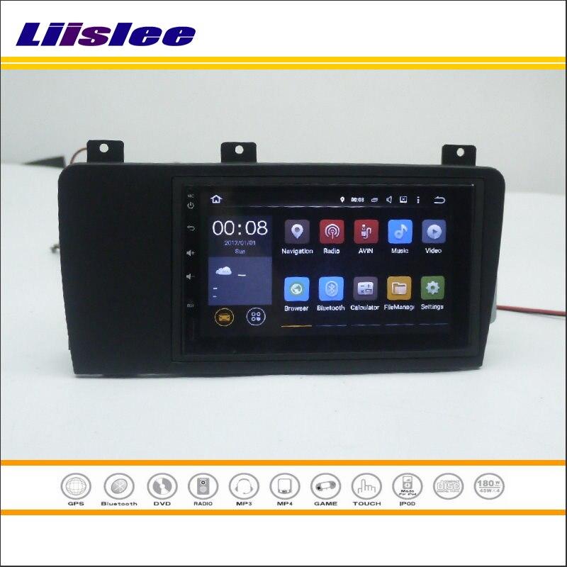 Liislee-lecteur CD DVD   Pour VOLVO XC70/V70/s60-autoradio stéréo, Android NAV, NAVI carte Navigation, système multimédia avec O Radio