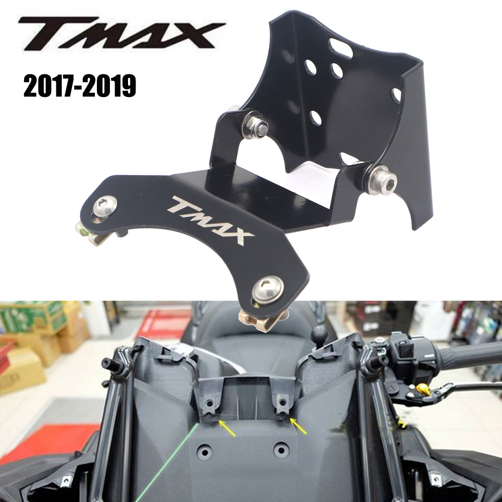 For YAMAHA TMAX 530 T MAX 530 2017 2018 2019 Stand Holder Smartphone Mobile Phone GPS Plate Bracket