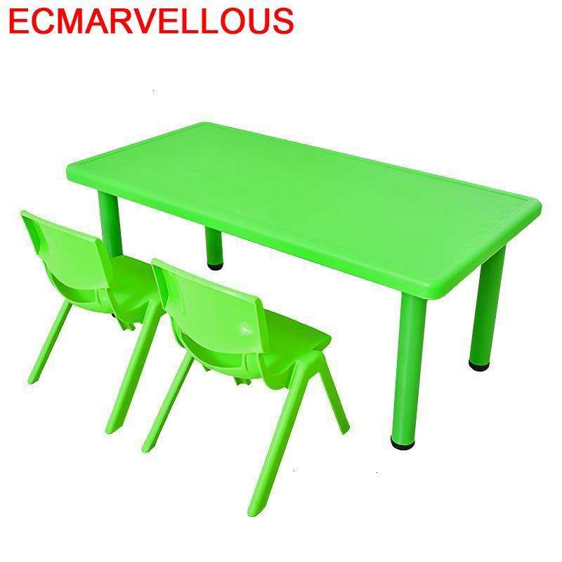 Baby Kindertisch Mesa Y Silla Infantil Chair And Avec Chaise Desk Kindergarten For Kids Kinder Enfant Study Children Table