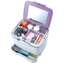 GUIBOBO Cosmetic Box Portable Multi-function Storage For Make Up Square Type Medicine Bag Medical Kit NO0205122134