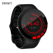 MNWT Smart Watch Men Sports  Full Screen Touch E3 1.28 inch Big Round Screen Heart Rate Blood Pressure IP68 Waterproof Watches