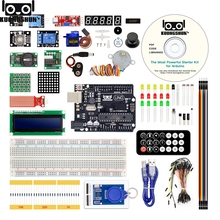 цена на The Most Powerful RFID Starter Kit for Arduino UNO R3 Upgraded version Learning Suite With Retail Box