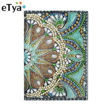 Wallet Document-Card Passport-Case Cover Travel Women New Russia Girls High-Quality