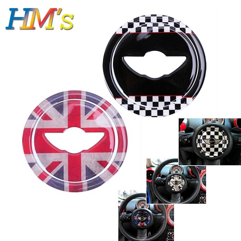 Steering Wheel Stickers For Mini Countryman R60 Dedicated Car Sticker Accessories For Mini Cooper R56 R55 R60 R57 R58 R59 R61