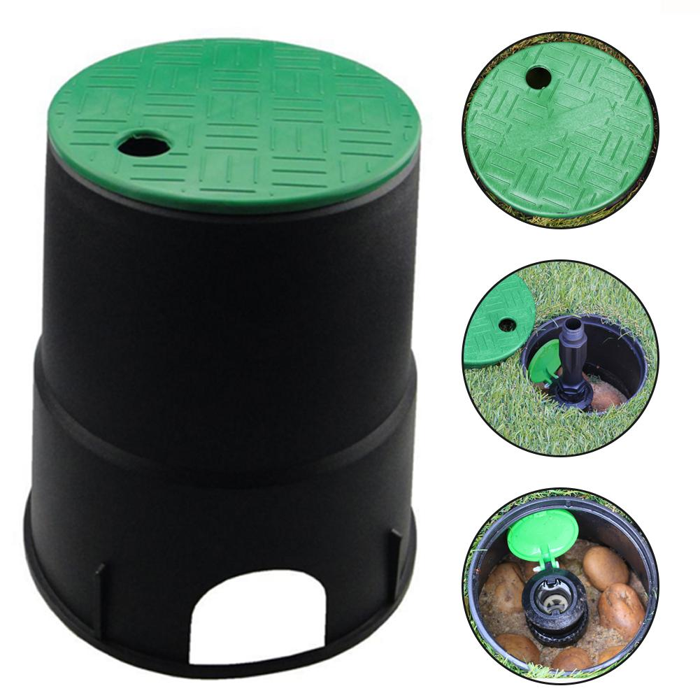 6 Inch Garden Lawn Underground Valve Cap Sprinkler Watering Valve Cover Lid Box Replace Traditional Brick Valve Well, Durable.