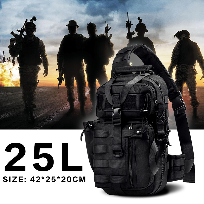 WAR GROUND Military Tactical font b Shoulder b font font b Bag b font Archer font