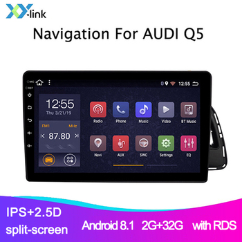 amprime 1din android 7 car multimedia quad core 6 0 touch car styling autoradio gps wifi bt usb fm rear view camera stero audio Car radio  For Audi Q5 2010-2018  Android multimedia player gps Navigation system autoradio audio support rear view camera 1din