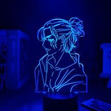 Anime Light Attack on Titan 4 Eren Yeager Home Decor USB Light Decoration Bedroom Motion Sensor Light led lamp Led Light Fixture