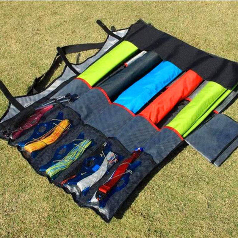Free Shipping Large Stunt Kites Bag Kite Waterproof Fabric Strong Durable Put 12pcs Kite Weifang Kites Factory Package