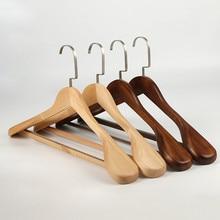 Высококачественная вешалка с широким плечом, деревянная вешалка для рубашек, Прочная вешалка для костюма, espace de rangement