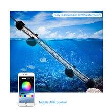 Zhongji LED Lamp For Aquarium Lamps Marine Plant Lighting RGB Fish Tank Light 19-59CM
