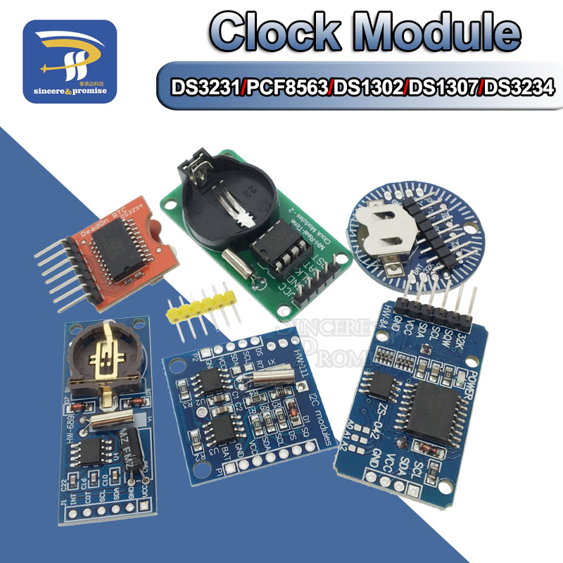 DS3234/DS1302/DS1307/PCF8563/DS3231 AT24C32 I2C IIC память 3,3 В-5 в реального времени точность RTC часы I2C Модуль DS3231SN для Arduino