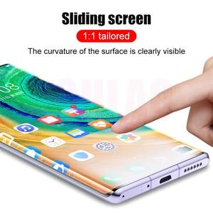 УФ закаленное стекло для Huawei P30 Pro P20 P40 P30 Lite Полное клеевое Защитное стекло для экрана для Huawei Mate 20 30 Lite Pro защитное стекло